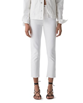 AGOLDE - Riley High Rise Straight Jeans in Blurred
