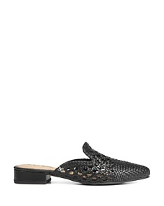 Sam Edelman - Women's Clara Woven Leather Mules