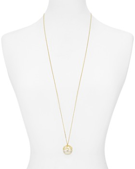 kate spade new york - Pearlette Pendant Necklace, 35""