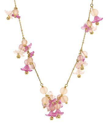 "kate spade new york - Floret Dangle Necklace, 16"""