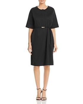 696f125f378 DKNY - Belted Button-Front Dress ...