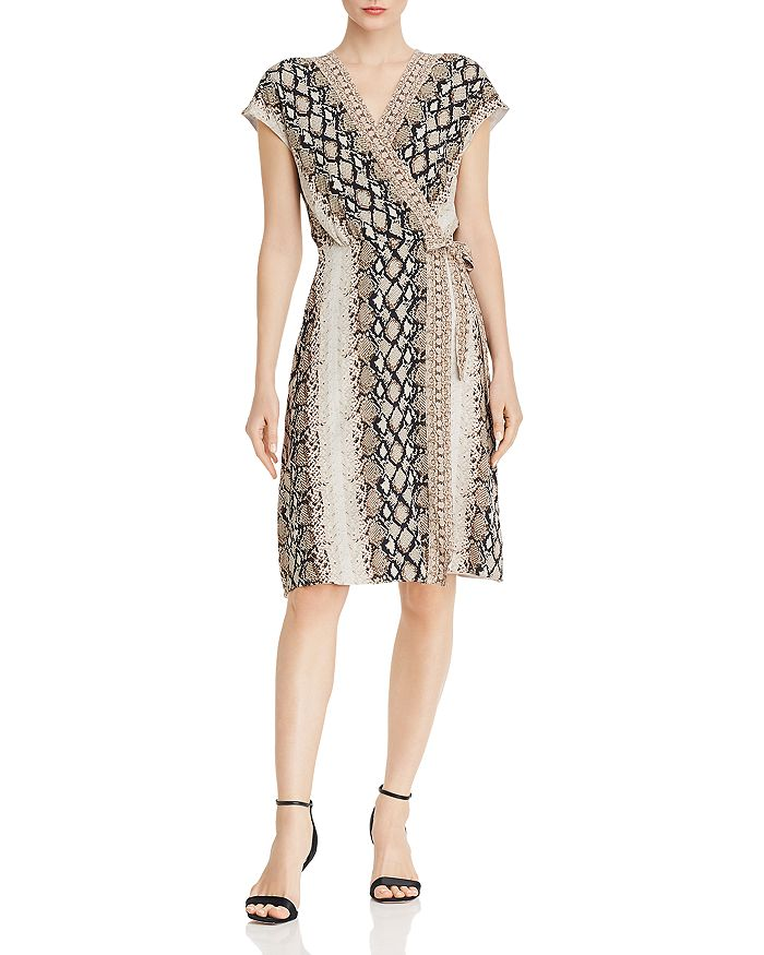Joie - Bethwyn C Printed Wrap Dress