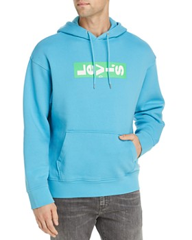 Levi's - Sideways Logo Graphic Hooded Sweatshirt