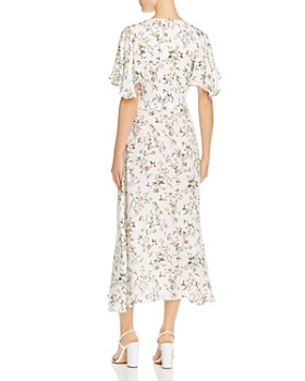 Divine Heritage - Floral Midi Dress