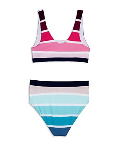 Splendid - Girls' Cascade Striped Two-Piece Swimsuit - Big Kid