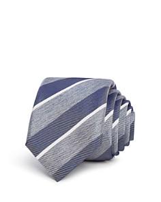 BOSS - Striped Silk Skinny Tie