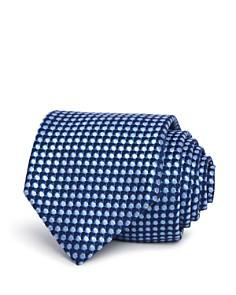 BOSS - Seasonal Dot Silk Skinny Tie