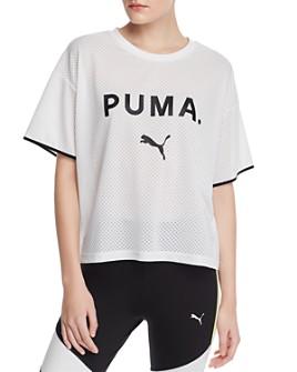 PUMA - Chase Mesh Logo Tee