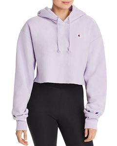 b07e16a4bad FILA Valeria Cropped Hooded Sweatshirt   Bloomingdale's