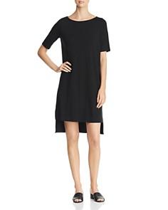 Eileen Fisher - Short-Sleeve Shift Dress