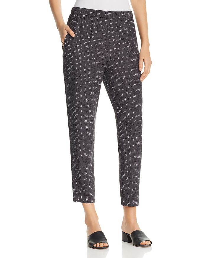 Eileen Fisher - Morse Code Cropped Pants