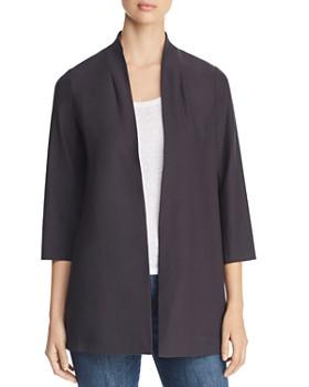 e6253136a01 Eileen Fisher Petites - Long Open Jacket ...