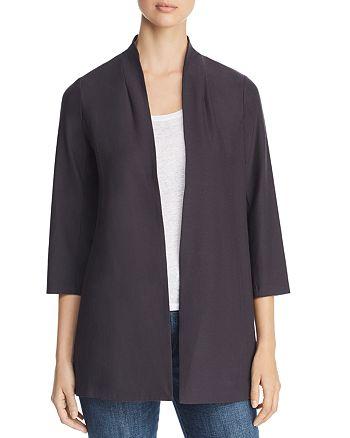 Eileen Fisher Petites - Long Open Jacket