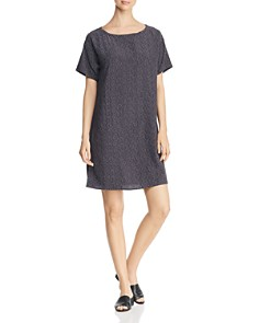 Eileen Fisher Petites - Morse Code Shift Dress