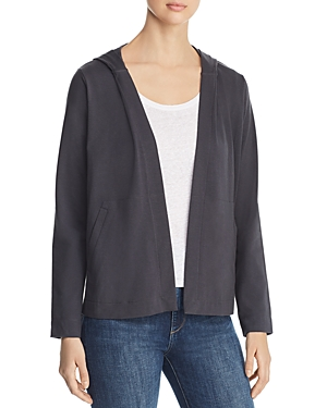 Eileen Fisher Tops HOODED CARDIGAN
