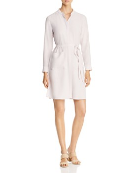 Eileen Fisher - Patch-Pocket Shirt Dress - 100% Exclusive