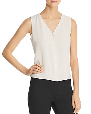 Eileen Fisher Tops SLEEVELESS SILK TOP
