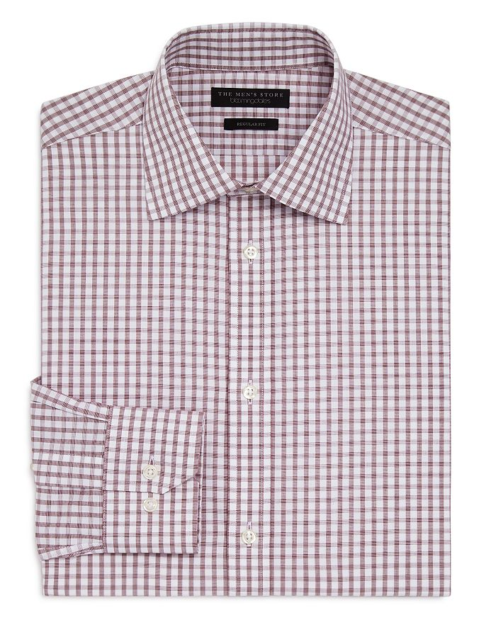 The Men's Store at Bloomingdale's - Bold Check Regular Fit Dress Shirt