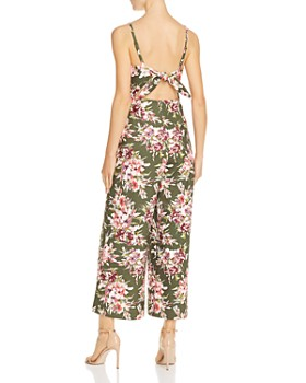 FRENCH CONNECTION - Cactus Floral-Print Jumpsuit