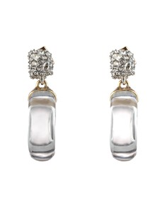 Alexis Bittar - Domed Drop Circle Earrings