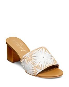 Jack Rogers - Women's Bettina Block Heel Slide Sandals