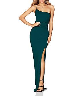 Nookie - Lust One-Shoulder Gown