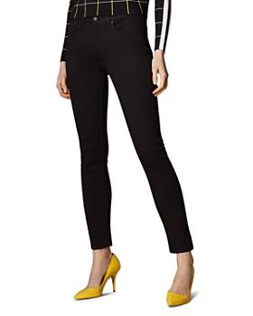 KAREN MILLEN - Signature Skinny Jeans in Black