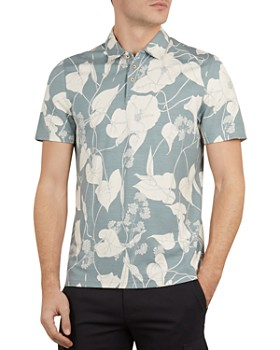 e6b9b6499247 Ted Baker - Wilow Floral Print Regular Fit Polo Shirt ...