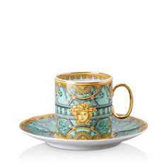 Versace - Versace La Scala del Palazzo Verde Coffee Cup & Saucer