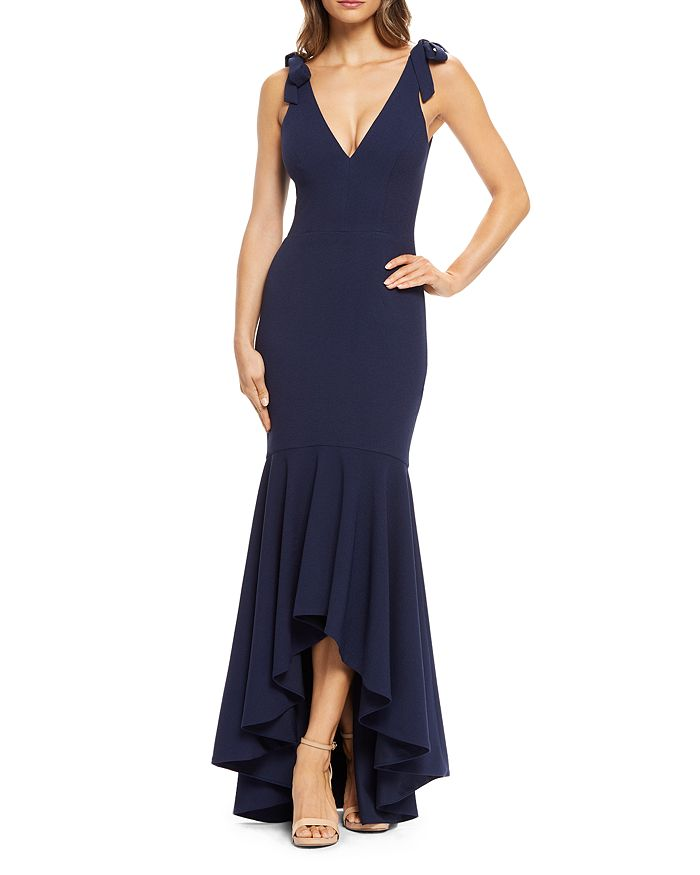 Dress the Population - Julia High/Low Mermaid Gown