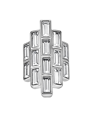 Atelier Swarovski Core Collection Fluid Azzurro Fringe Cocktail Ring