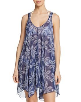 J. Valdi - Bloom Flowy Racerback Dress Swim Cover-Up