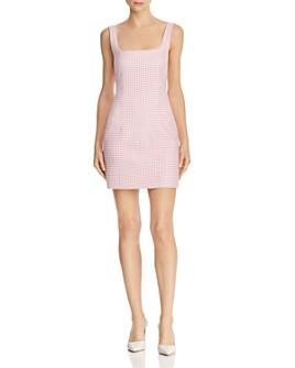 Bec & Bridge - Check You Later Mini Dress
