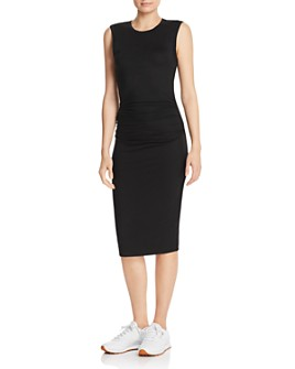 Enza Costa - Ruched Jersey Tank Dress