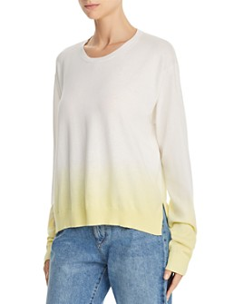ATM Anthony Thomas Melillo - Boxy Dip-Dyed Crewneck Sweater
