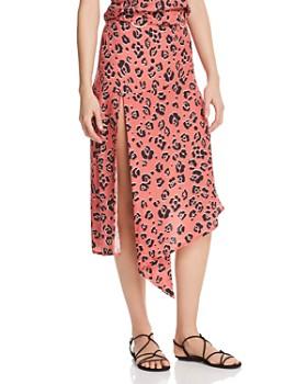 Suboo - Zanzibar Leopard-Print Midi Skirt