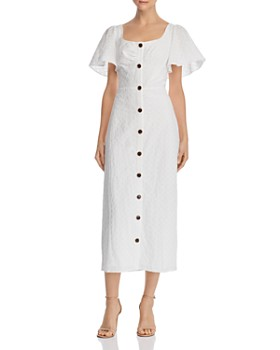 leRumi - Olivia Button-Down Midi Dress