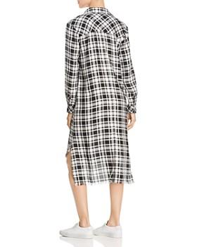 Billy T - Plaid High/Low Shirt Dress