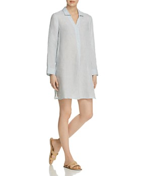 NIC and ZOE - Spring Time Linen Tunic Dress