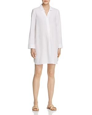 Nic And Zoe Dresses NIC+ZOE SPRING TIME LINEN TUNIC DRESS