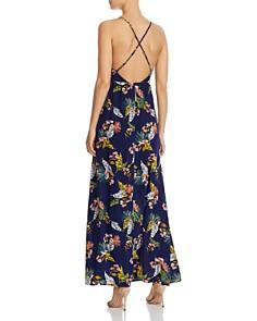 AQUA - Tropical Print Maxi Dress - 100% Exclusive