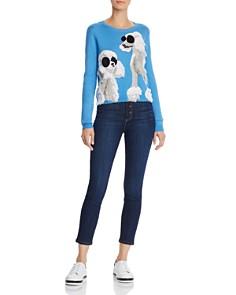 Alice and Olivia - Connie Poodle Intarsia Sweater