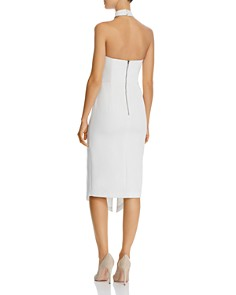Alice and Olivia - Sia Choker Detail Strapless Dress