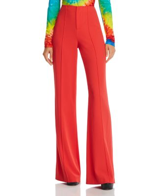 Dylan High Rise Wide Leg Pants by Alice And Olivia