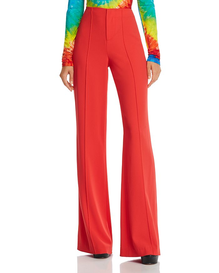 Alice and Olivia - Dylan High-Rise Wide-Leg Pants