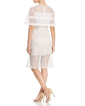 6265c098e9 ... Elie Tahari - Janine Lace Cape Dress
