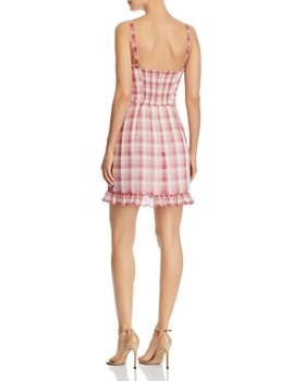 WAYF - Lockport Gingham Mini Dress