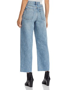 Pistola - Cher High-Rise Crop Wide-Leg Jeans in Come On