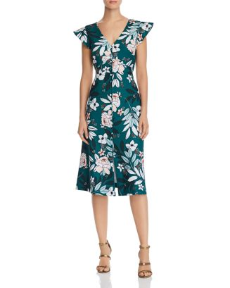 Babylon Floral Dress by Adrianna Papell