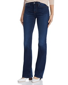 Hudson - Mid-Rise Bootcut Jeans in Baltic